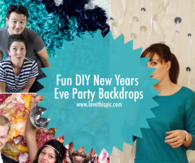 Fun DIY New Years Eve Party Backdrops