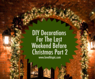 DIY Decorations For The Last Weekend Before Christmas Part 2