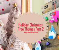 Holiday Christmas Tree Themes Part 2