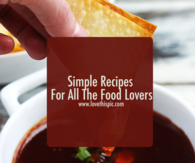 Simple Recipes For All The Food Lovers