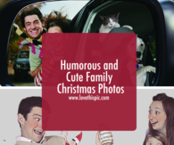 Humorous and Cute Family Christmas Photos