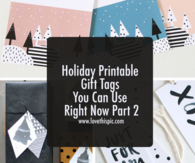 Holiday Printable Gift Tags You Can Use Right Now Part 2