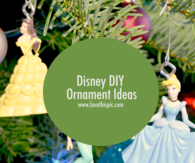 Disney DIY Ornament Ideas