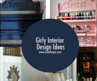 Girly Interior Design Ideas