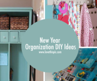 New Year Organization DIY Ideas