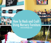 How To Hack and Craft Using Nursery Furniture