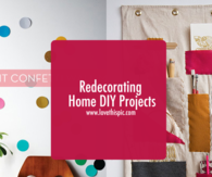 Redecorating Home DIY Projects