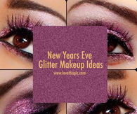 New Years Eve Glitter Makeup Ideas