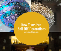 New Years Eve Ball DIY Decorations