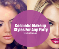 Cosmetic Makeup Styles For Any Party