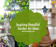 Inspiring Beautiful Garden Art Ideas