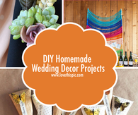 DIY Homemade Wedding Decor Projects