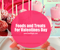 Foods and Treats For Valentines Day