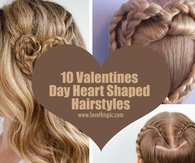 10 Valentines Day Heart Shaped Hairstyles