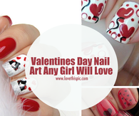 Valentines Day Nail Art Any Girl Will Love