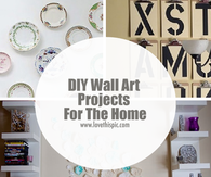 DIY Wall Art Projects For The Home