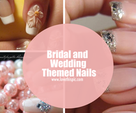 Bridal and Wedding Themed Nails