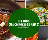 DIY Food Sauce Recipes Part 2
