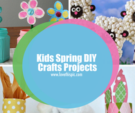 Kids Spring DIY Crafts Projects