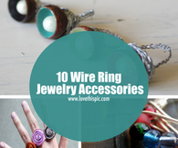 10 Wire Ring Jewelry Accessories