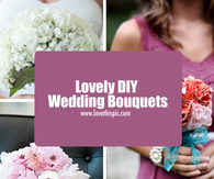 Lovely DIY Wedding Bouquets
