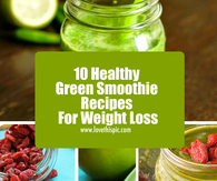 10 Healthy Green Smoothie Recipes For Weight Loss