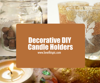 Decorative DIY Candle Holders