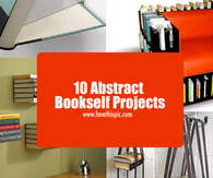 10 Abstract Bookself Projects