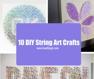 10 DIY String Art Crafts