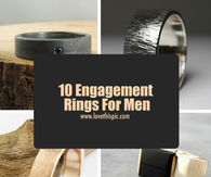 10 Engagement Rings For Men
