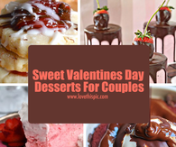 Sweet Valentines Day Desserts For Couples