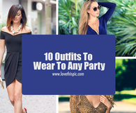 10 Outfits To Wear To Any Party
