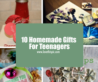 10 Homemade Gifts For Teenagers