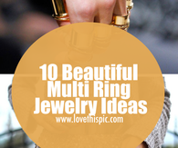 10 Beautiful Multi Ring Jewelry Ideas