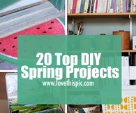 20 Top DIY Spring Projects