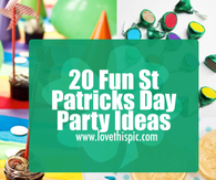 20 Fun St Patricks Day Party Ideas