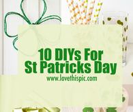 10 DIYs For St Patricks Day