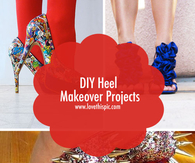 DIY Heel Makeover Projects