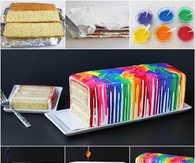 DIY Rainbow Cake