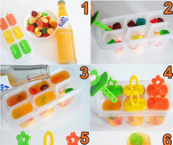 SODA POPSICLES WITH GUMMIES