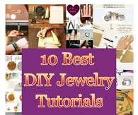 10 Best DIY Jewelry Tutorials