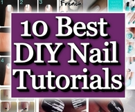 10 Best DIY Nail Tutorials