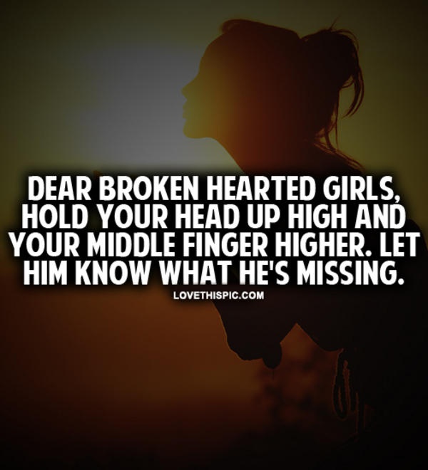 images of broken heart girl with quotes wallpaper images