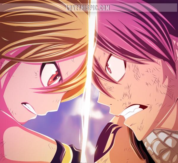 FAIRY TAIL - Lucy & Natsu
