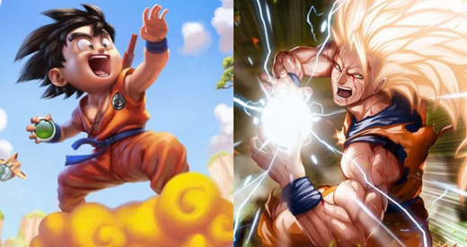 Dragonball Art Photos
