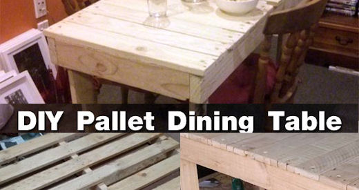 DIY Pallet Dining Room Table Pictures Photos And Images For Facebook Tumblr Pinterest Twitter