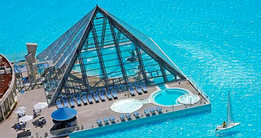 The Largest Swimming Pool In The World In Algarrobo Chile Pictures Photos And Images For