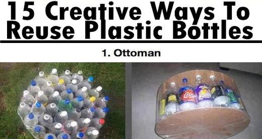 15 creative ways to reuse plastic bottles pictures photos for Creative use of waste plastic bottles
