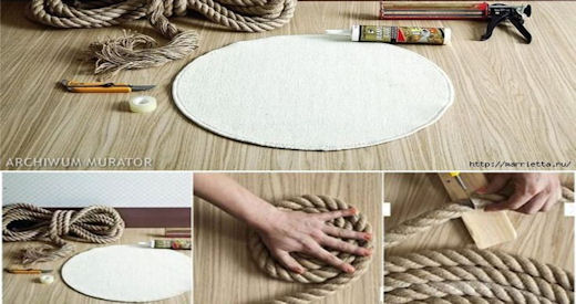 DIY Rope Rug Pictures, Photos, and Images for Facebook, Tumblr ...
