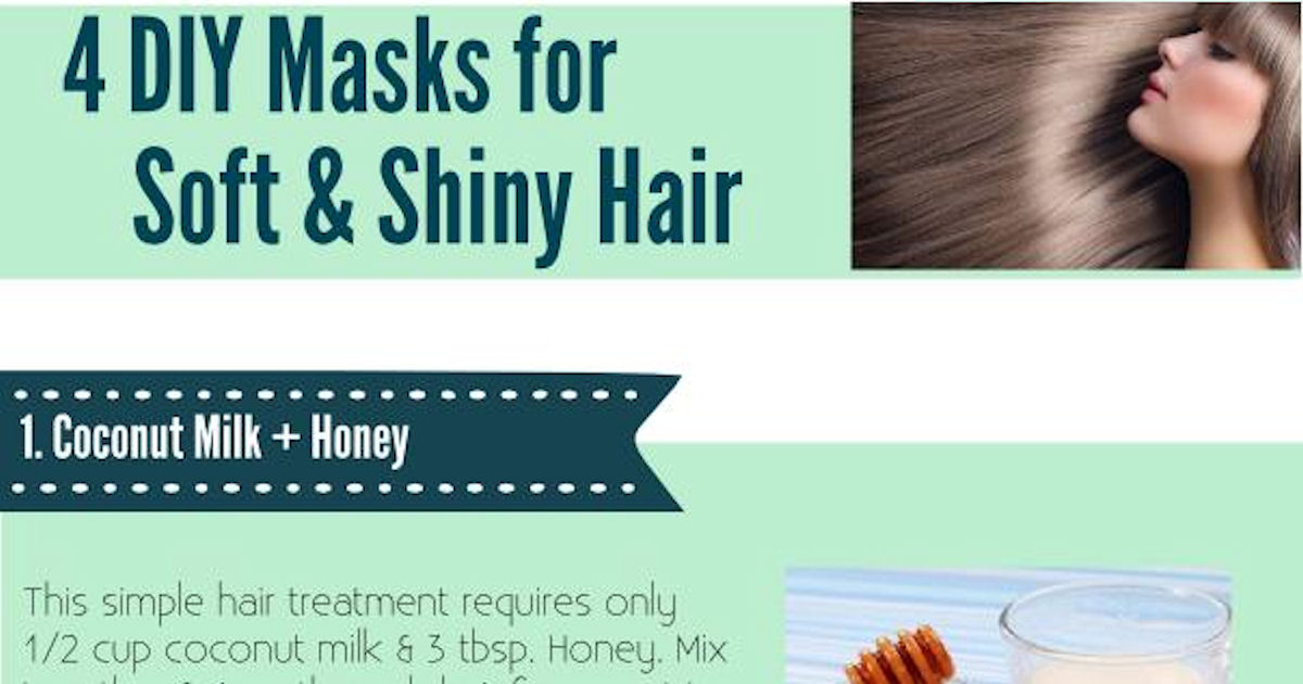 4 Diy Masks For Soft And Shiny Hair Pictures Photos And